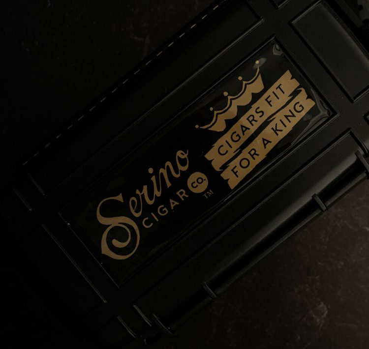 Serino Cigar Co - Cigars Fit For A King - Cigar Caddy